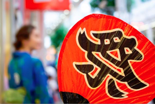 川越古尾谷八幡神社のほろ祭り、そもそもほろって何ぞや?ってところから解説しています。