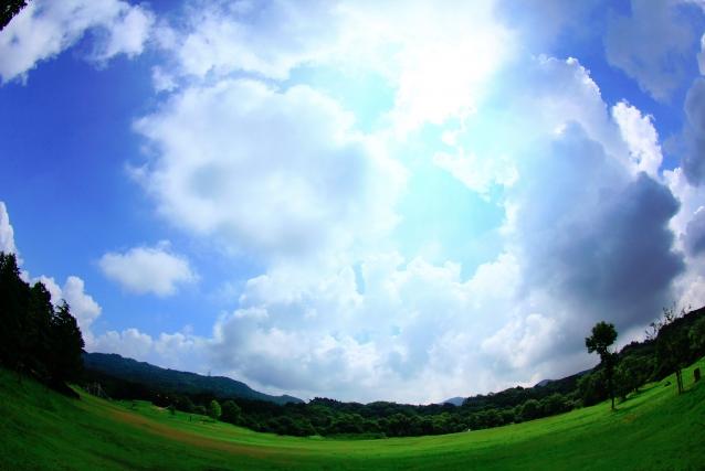 彩湖・道満グリーンパークは晴れた日にはバーベキューも楽しめる広い公園です!